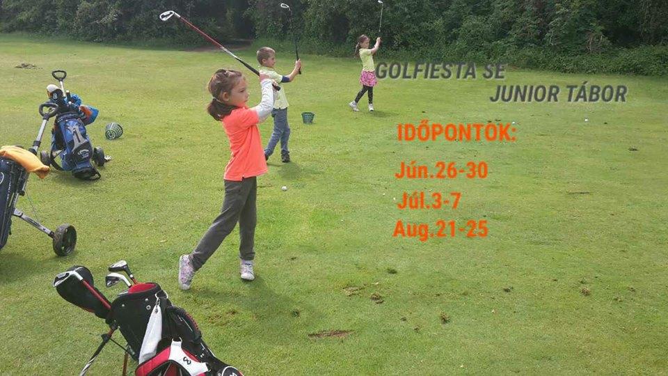 Információ a Golfiesta nyári junior táborairól