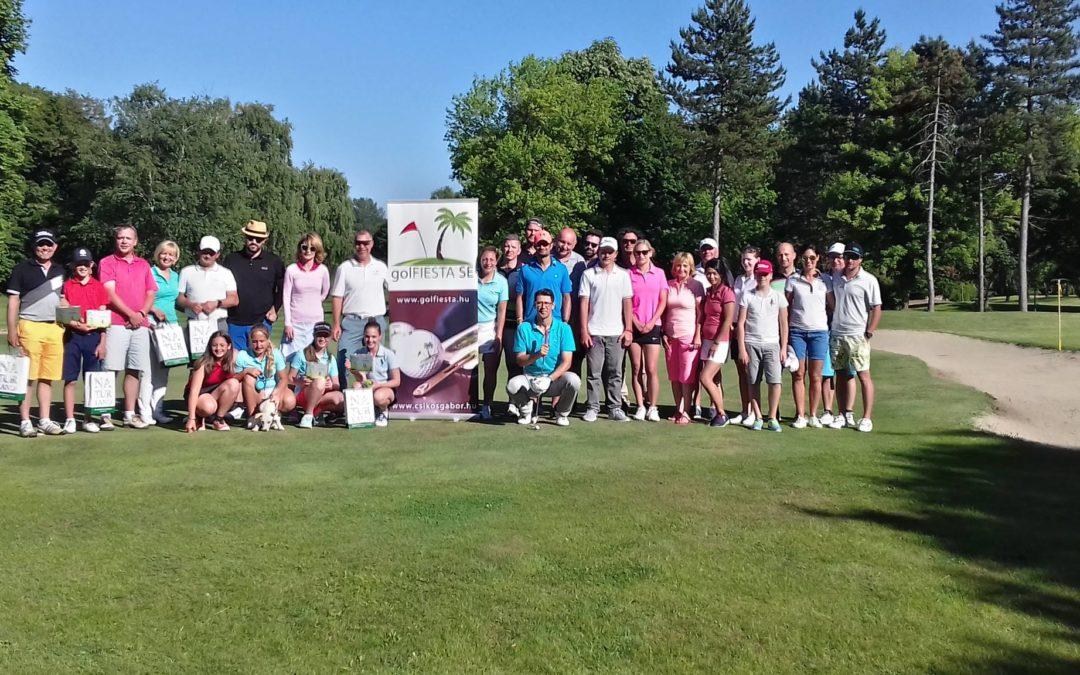 Gyönyörű időben és jó kedvben gazdagon lezajlott az idei Golfiesta Fun Cup is.