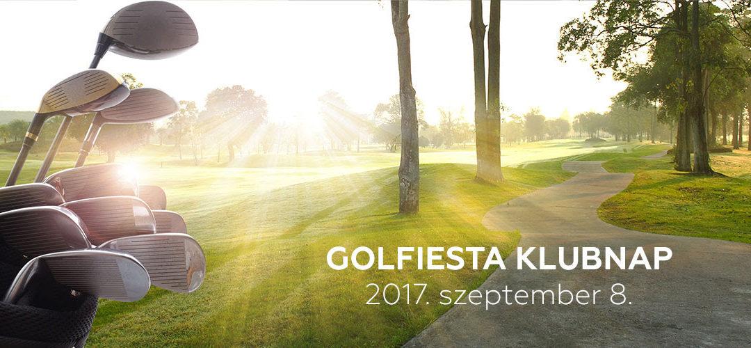 GOLFIESTA Klubnap : Szeptember 8.-án bevesszük az Academy pályáját!