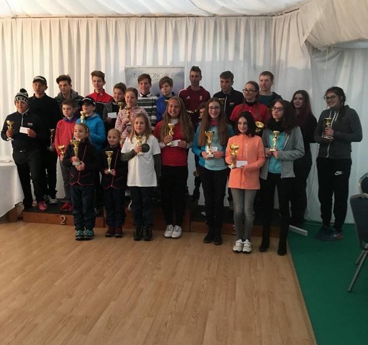 A Golfiesta SE fiataljai taroltak a Junior Tour-on