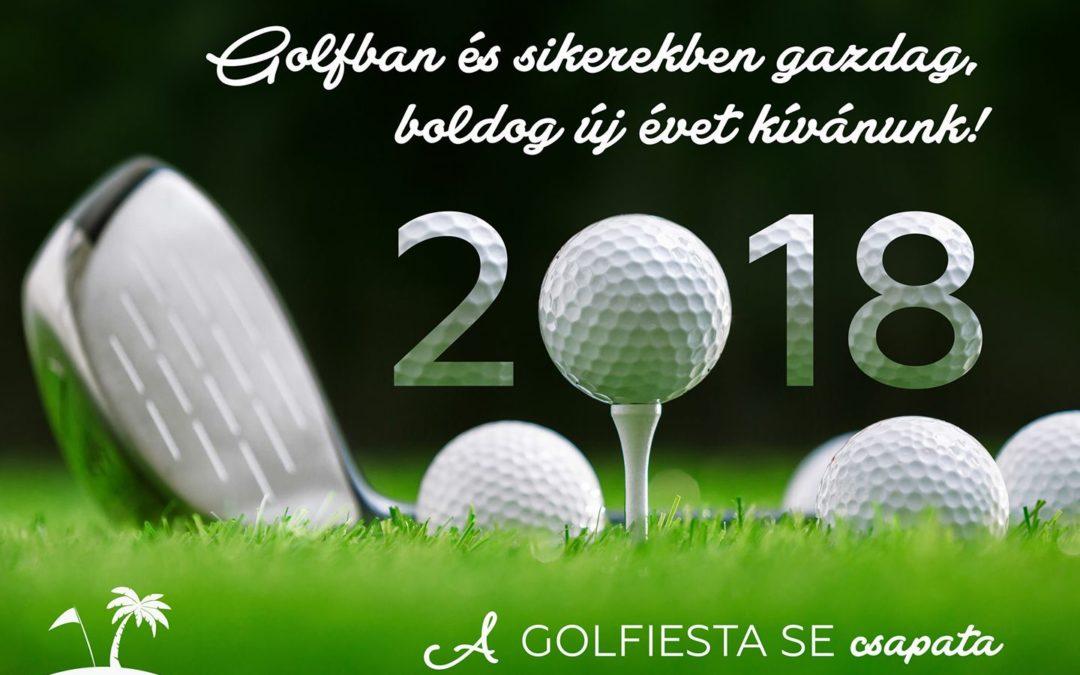 Golfban és sikerekben gazdag, boldog új évet kívánunk!