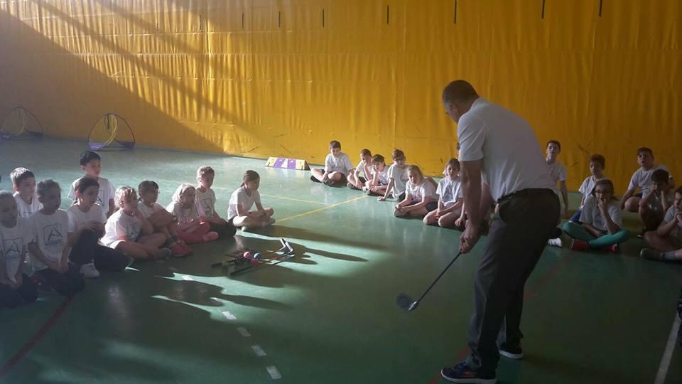 Iskolásoknak népszerűsítettük a golfot…