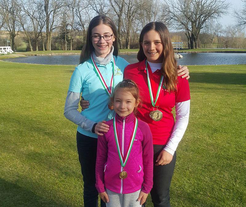 Kiválóan szerepeltek a Golfiesta SE fiataljai az első Junior Tour fordulón.