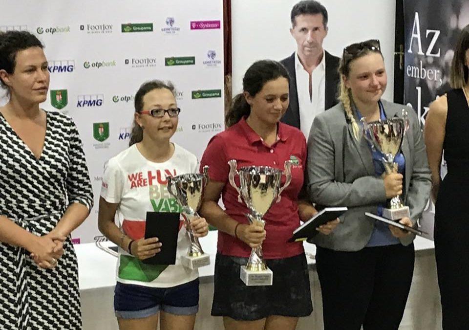 Emma a győzelmével minden idők legfiatalabb női Magyar Kupa győztese lett