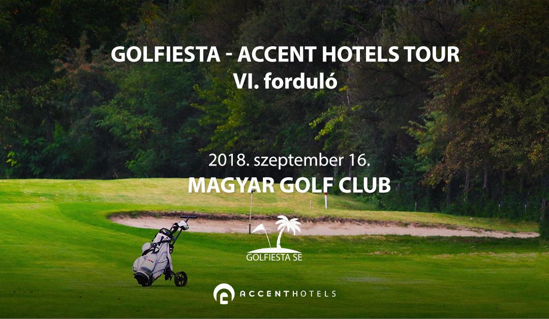 Startlista, 2018.09.16. Golfiesta – Accent Hotels Tour VI.