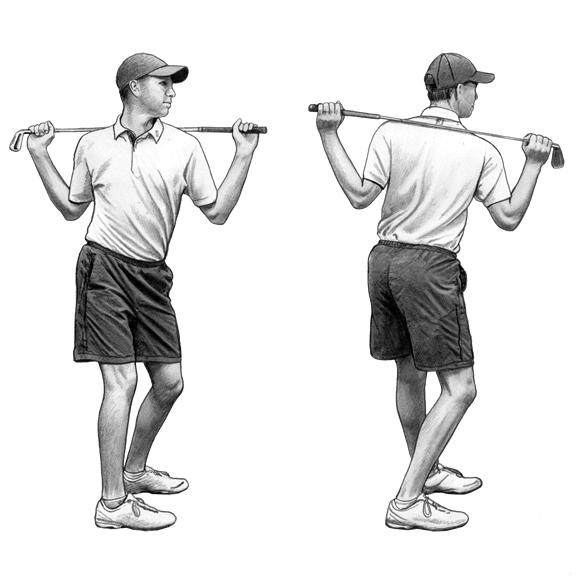 Bemelegítés, sérülésmegelőzés a golfban