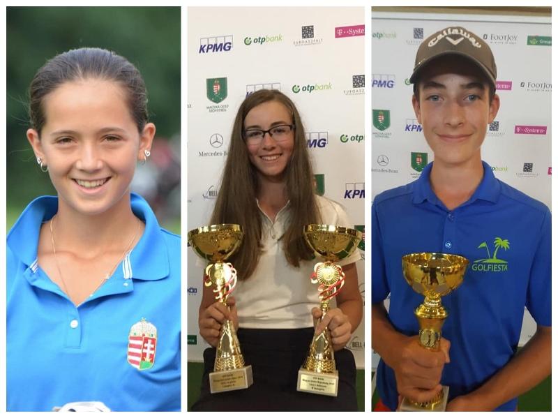 Golfiestás fiatalok szereplése a 30. Magyar Junior Openen