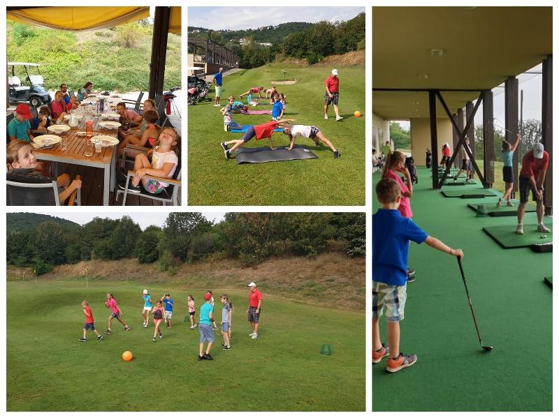 A nyári utolsó Golfiesta junior tábora, az iskola kezdés előtt…