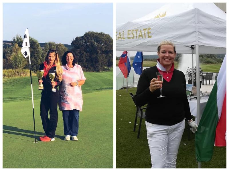 A Mid-Am női mezőnyben Golfiesta sikerek