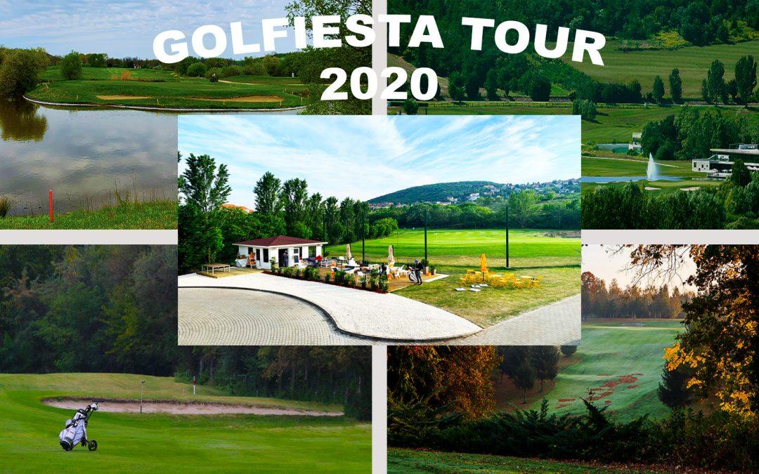 2020-as Golfiesta versenynaptár