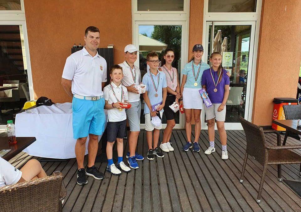 Junior Tour VI. forduló Highland Golf Club – Golfiesta eredmények