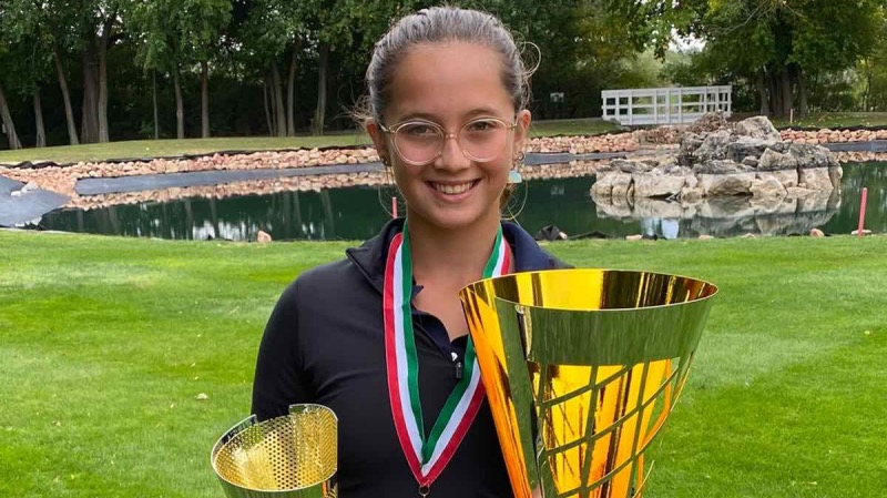 Emma megnyerte a Nyílt Magyar Junior Bajnokságot!