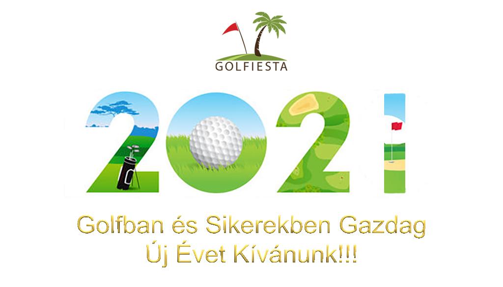 Boldog Új Évet Kíván a Golfiesta!!!